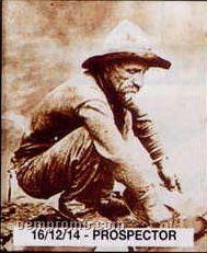 "11""X14"" Early American Tin Type Print - Prospector"