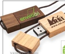 Blocco Wood USB Flash Drive (2 Gb)