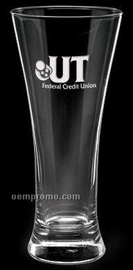 12 Oz. Deep Etched Pilsner Glass