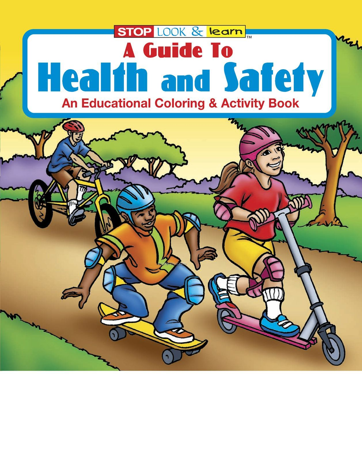 A Guide To Health And Safety Coloring Book Fun Pack