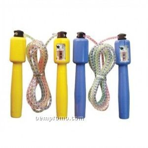 Jump Rope W/Counter - Solid Color Handles