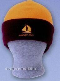 Premium Polar Fleece Colorblock Cuff Hat