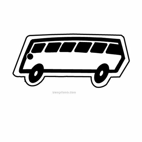 Stock Shape Collection Metro Bus 1 Key Tag