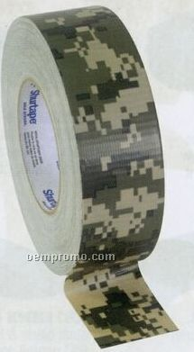 Army Digital Camouflage Military 100 Mile An Hour Duct Tape
