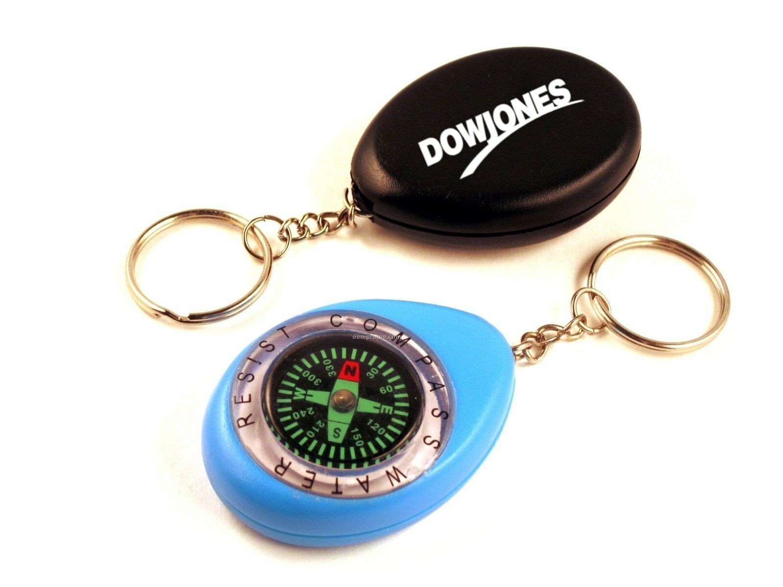 Water Resistant Compass W/Key Chain