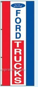 Double Face Dealer Rotator Drape Flags - Ford Trucks