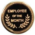 "Mylar - 2"" Employee Of The Month"