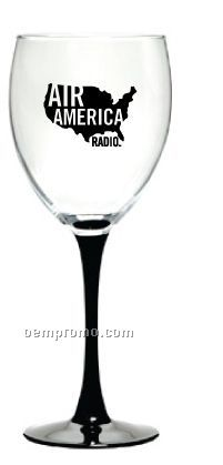 10.5 Oz. Arc Signature Series Black Stem Goblet