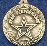 "2.5"" Stock Cast Medallion (Star Performance)"