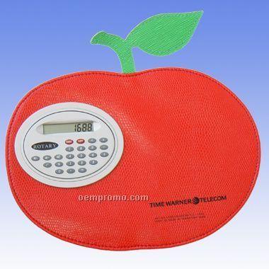 Apple Mouse Pad W/ Calculator