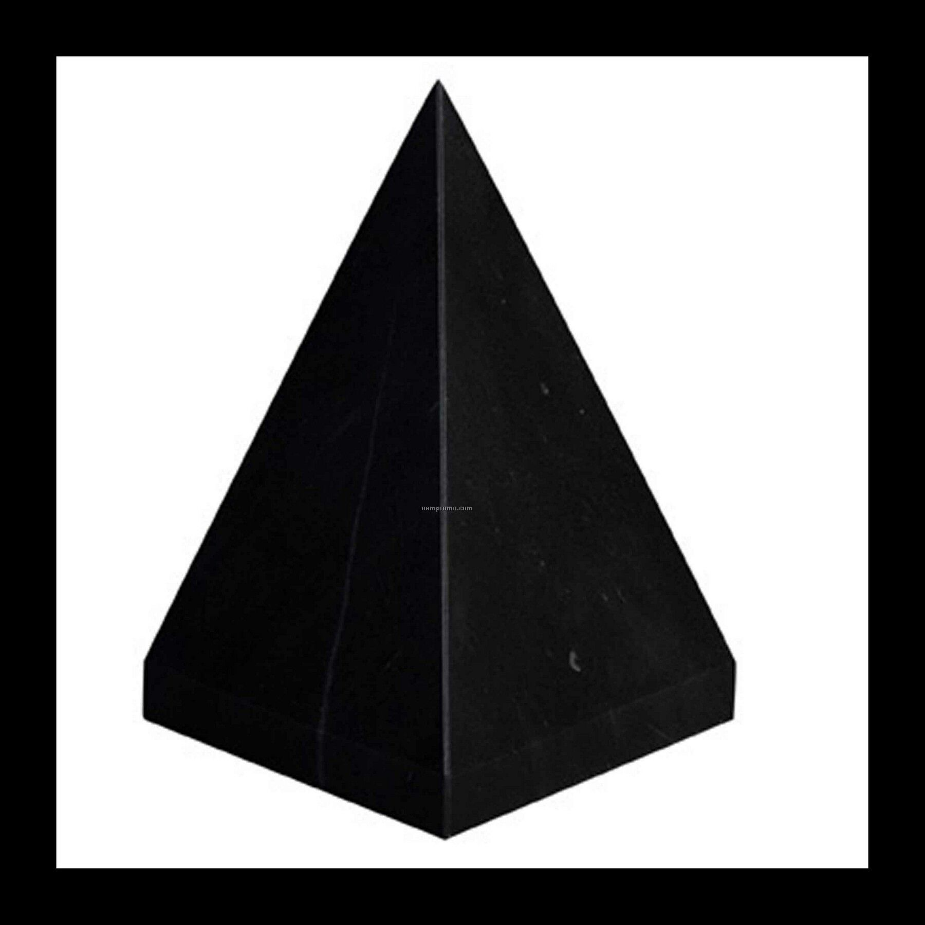 Large Pyramid Award - Jet Black