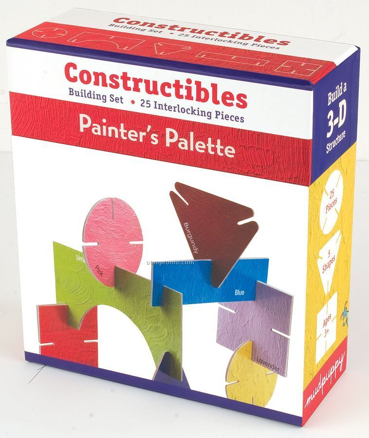 Painter's Palette Constructibles Building Set
