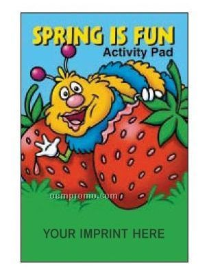 Spring Is Fun Activity/Coloring Book Fun Pack
