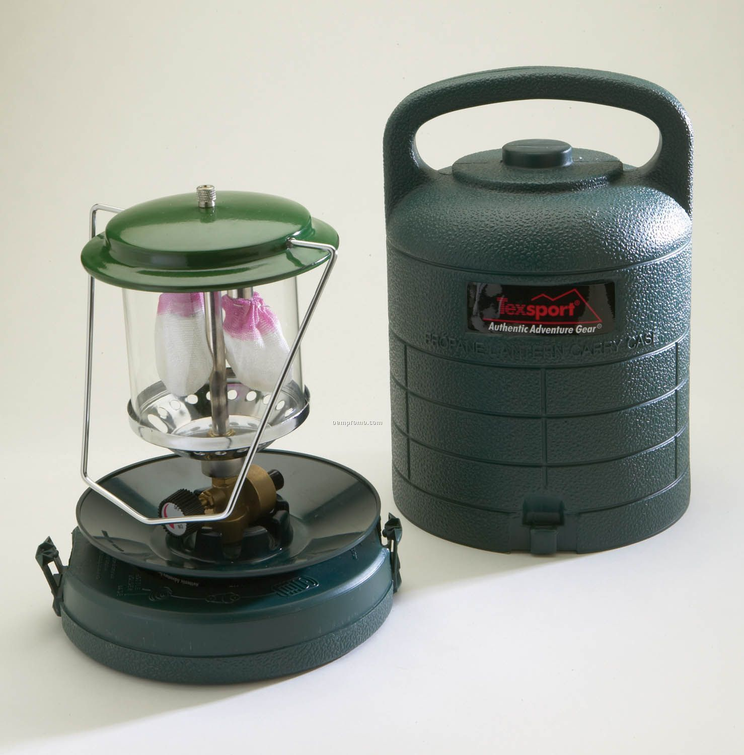 Texsport Double Mantle Propane Lantern With Carry Case