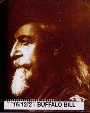 """11""""X14"""" Early American Tin Type Print - Buffalo Bill"""