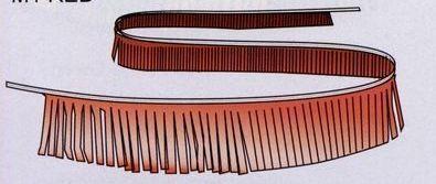 30' Brilliant Metallic Fringe Pennant Strings (Solid & Assorted)