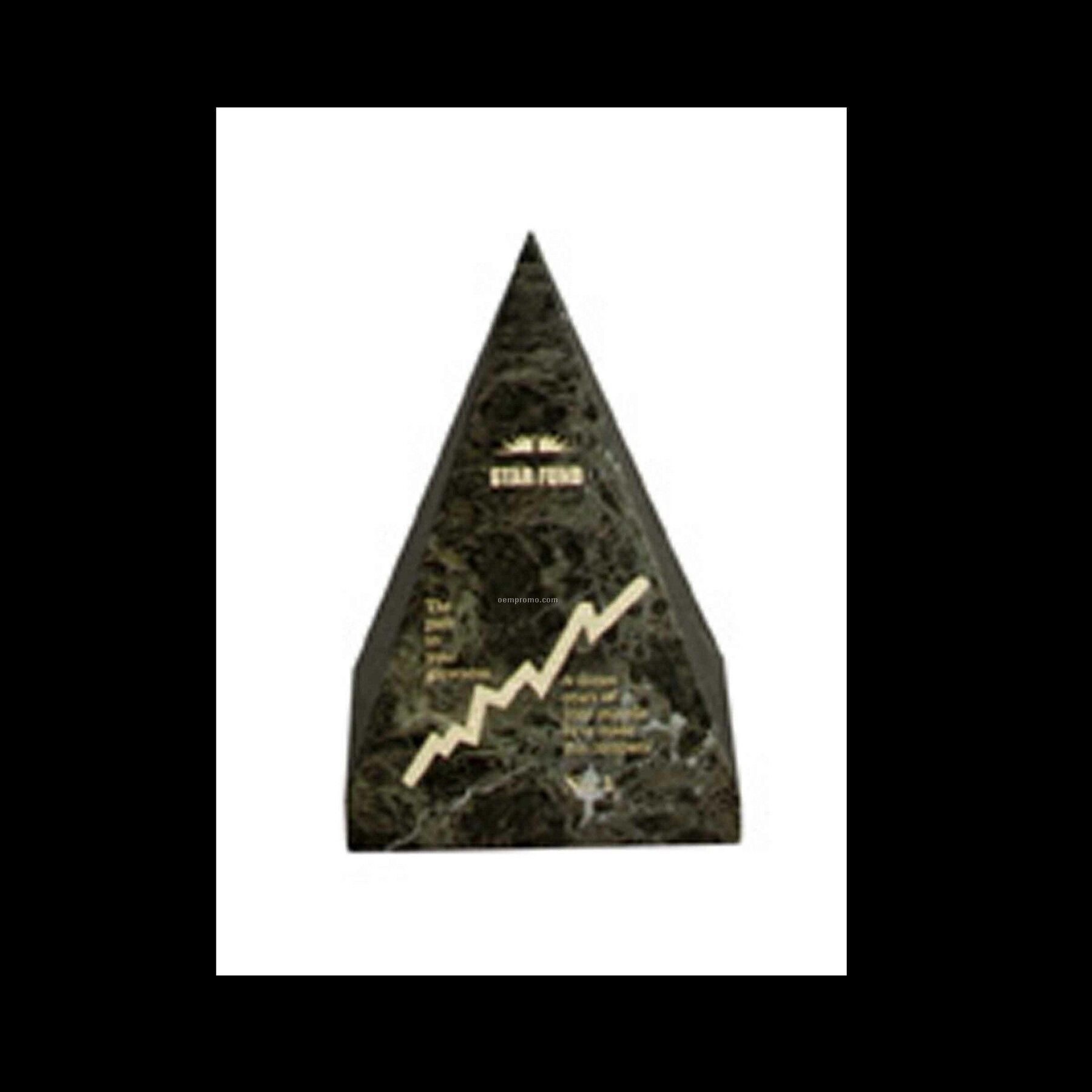 "6"" Large Pyramid Award"
