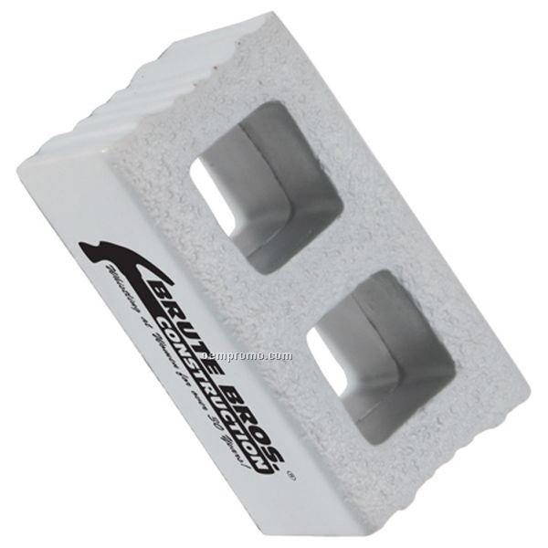 Cement Block Squeeze Toy