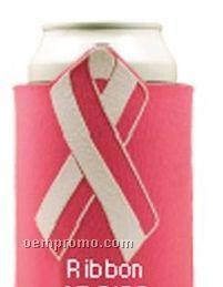 Crazy Frio Beverage Holder - Cancer Ribbon