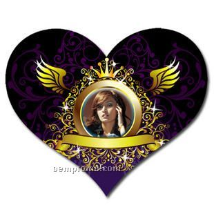 Heart Mousepad Sublimated Full Color