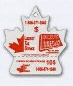 Maple Leaf Detachable Coupon Air Freshener