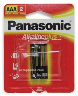 Panasonic AAA 2-pack Batteries