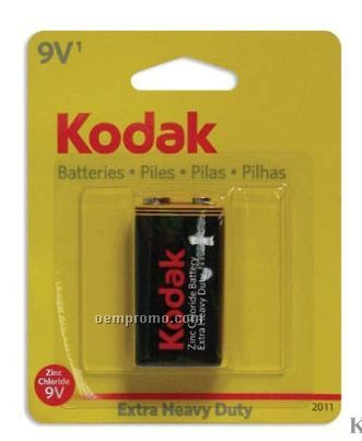 Kodak Extra Heavy Duty 9 Volt Battery