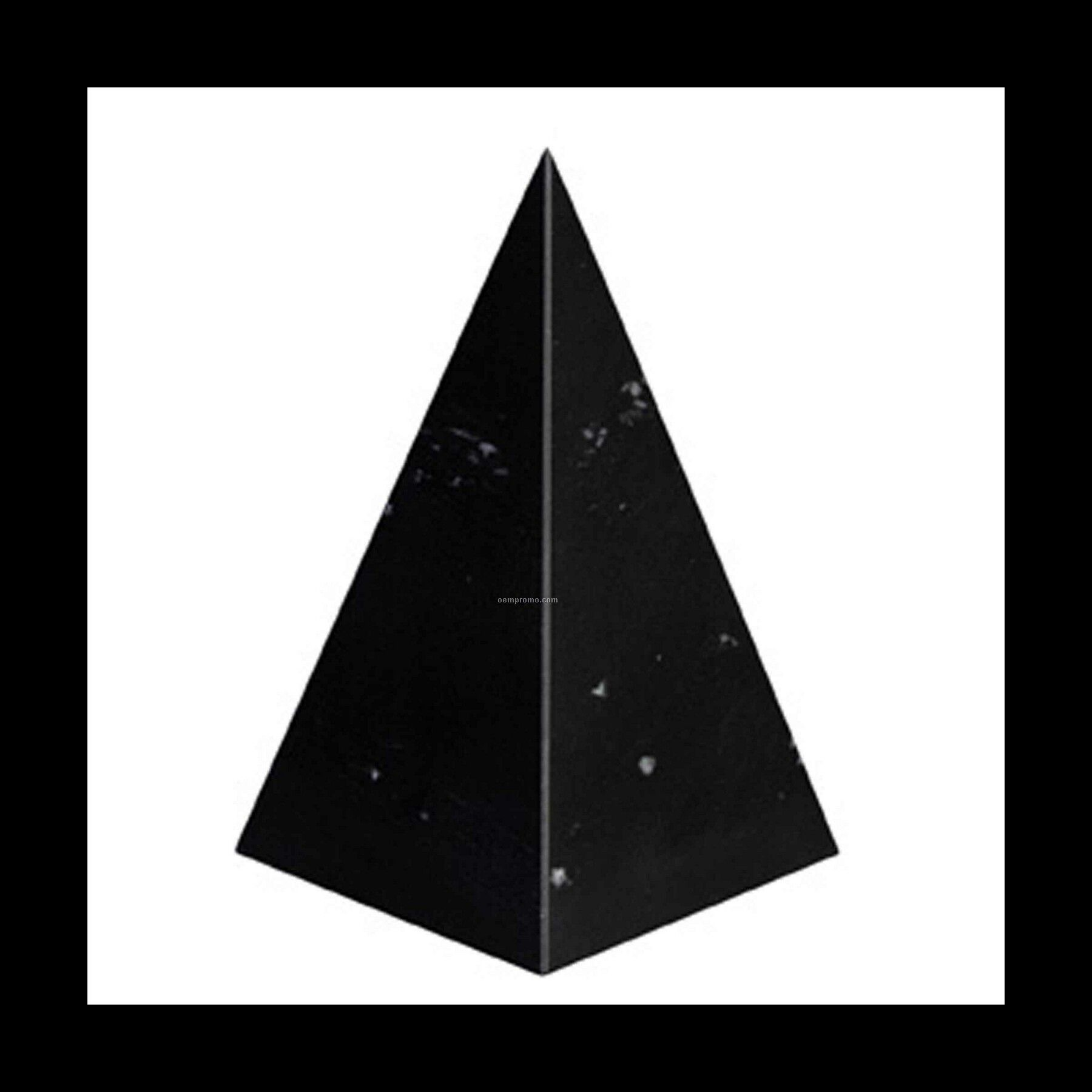 Medium Pyramid Award - Jet Black