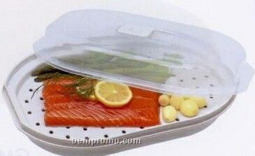 handy gourmet 2 tier microwave steamer instructions