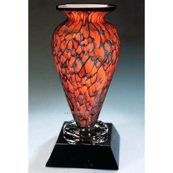 """Topaz Monarch Athena Vase (4.5""""X10"""")"""