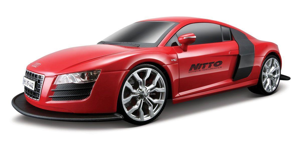 "14"" R/C 1:10-1:12 2009 Audi R8 V10"