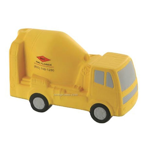 Concrete Mixer Squeeze Toy