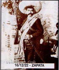 """11""""X14"""" Early American Tin Type Print - Zapata"""