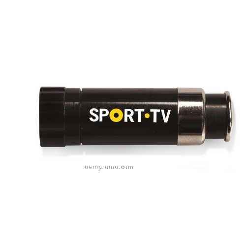 LED Lighter Light Black Flashlight