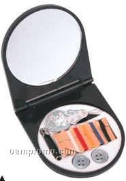 Pocket Sewing Kit W/ Mirror