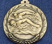 "2.5"" Stock Cast Medallion (Swim Freestyle/ Male)"