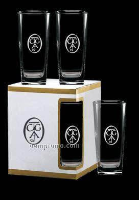 16 Oz. Sterling Beverage Glass Premium Box Set