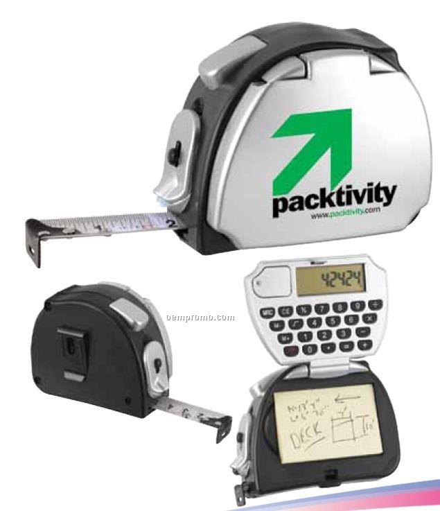 The Estimator Tape Measuring Kit With Flashlight