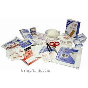 25 Person First Aid Kit Refill - Imprinted