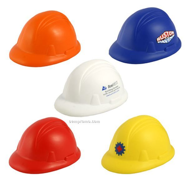 Hard Hat Squeeze Toy