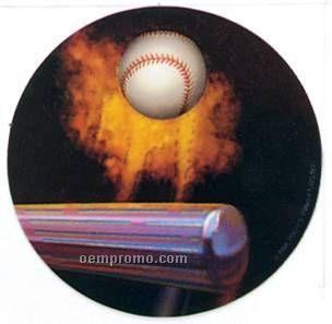 "Holographic Mylar - 2"" Baseball"