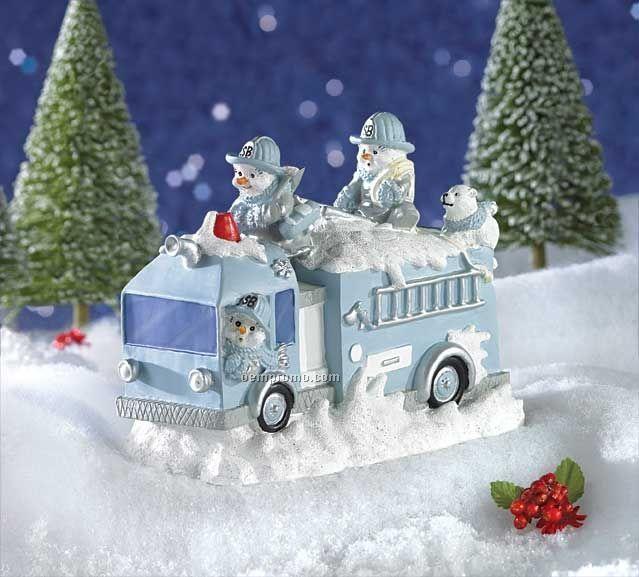 Snow Buddies Fire Trick Figurine