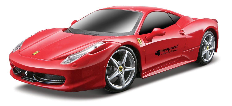"""1/24 Scale 7"""" Remote Control Car Ferrari 458 Italia"""