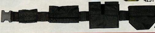 Black Nylon Swat Belt
