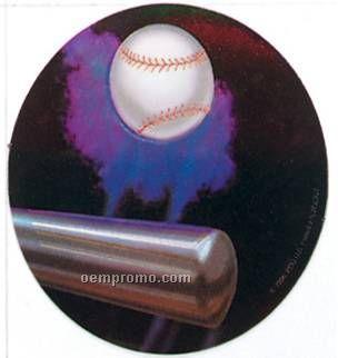 "Holographic Mylar - 2"" Softball"