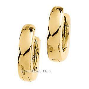 Ladies' 14ky 9-1/2mm Hinged Earring
