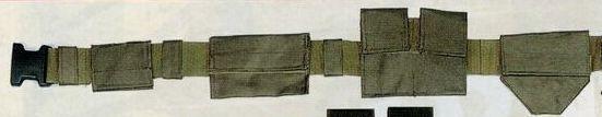 Olive Green Drab Nylon Swat Belt