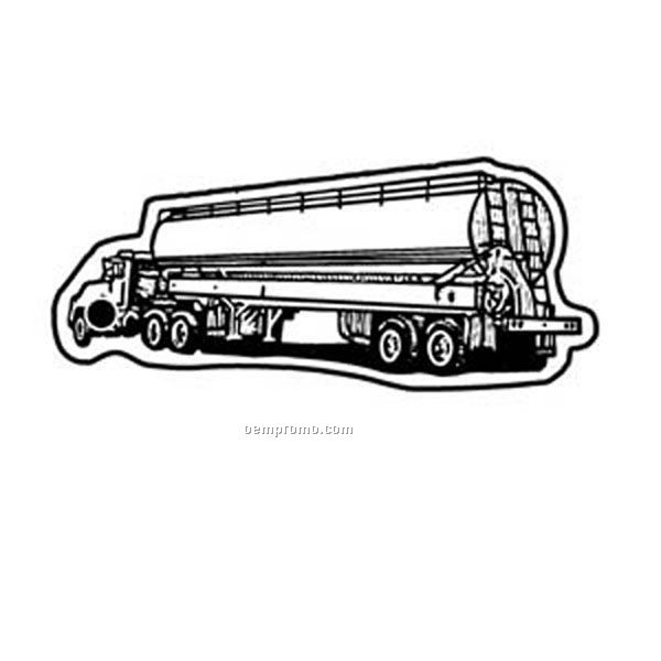 Stock Shape Collection Tanker Truck 2 Key Tag