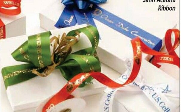 """7/8"""" Custom Imprinted Tape & Ribbon"""