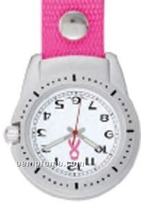 Pedre Clipper Watch W/ Pink Strap